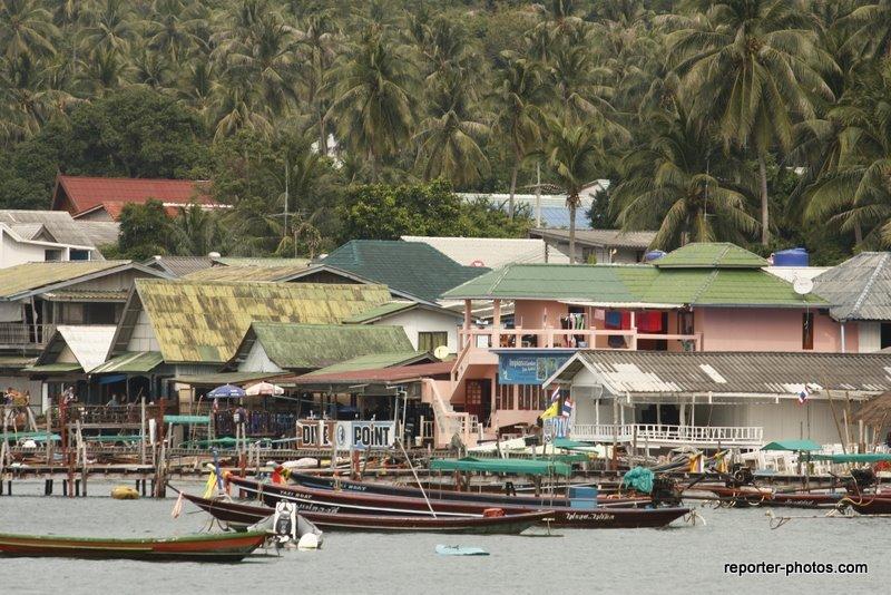 Embarcadaire de Koh Tao